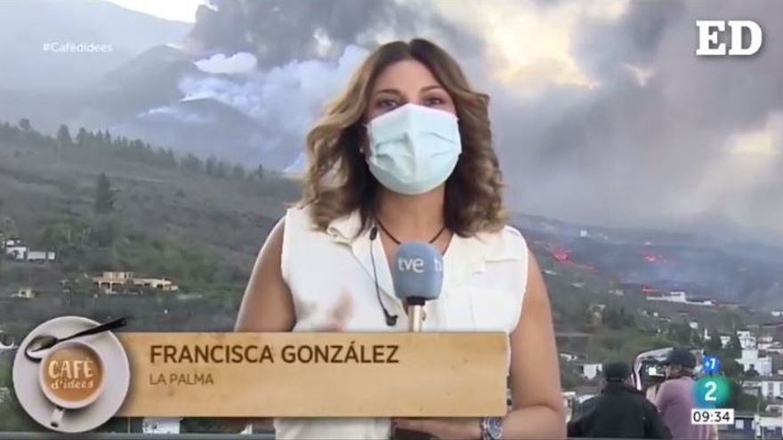 """Conexión """"catalá-canari"""" desde el Volcán de La Palma"""