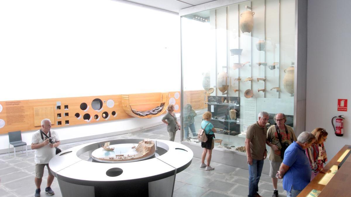 El Museo ARQVA de Cartagena, cerrado por goteras