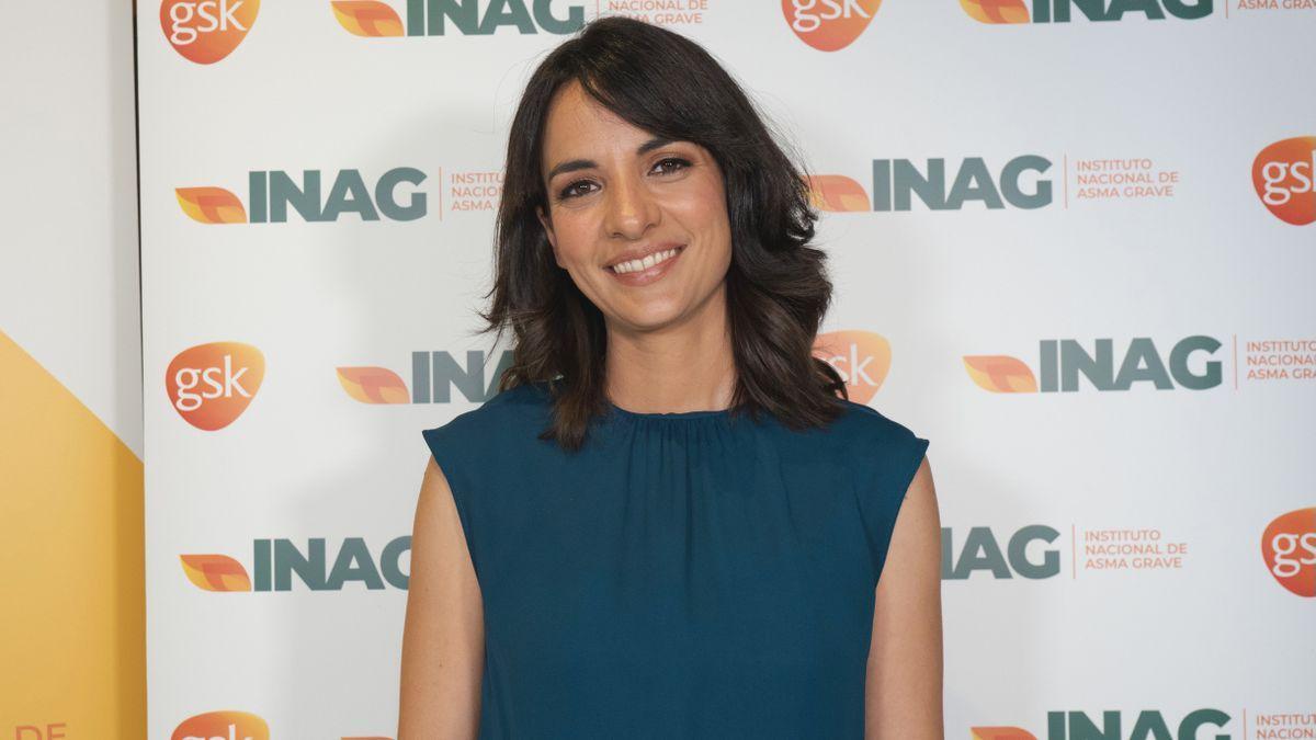 Esther Vaquero presta su apoyo al Instituto Nacional de Asma Grave.