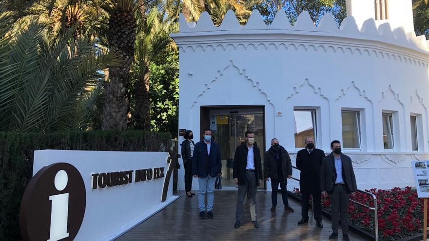 La renovada Oficina de Turismo de Elche volverá a abrir en cuestión de días