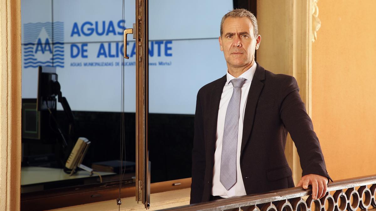 Joaquín Marco, responsable del centro de innovación Dinapsis de Benidorm y director técnico y de operaciones de Aguas de Alicante.