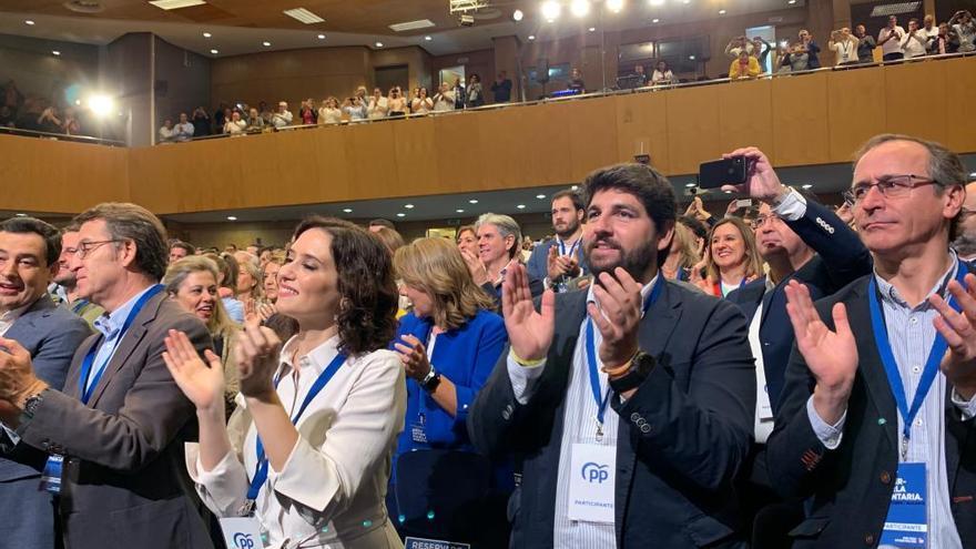 López Miras pone a la Región como ejemplo de desbloqueo político