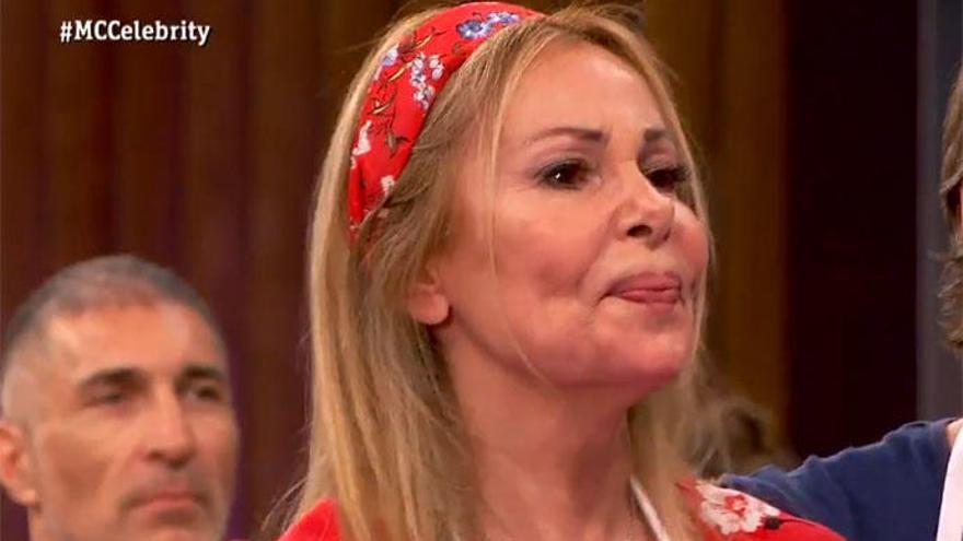 Ana Obregón, primera expulsada de 'Masterchef Celebrity 4'