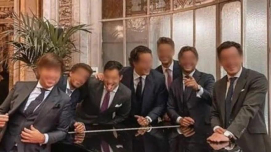 Indignación por la boda de un canterano del Real Madrid sin mascarillas ni distancia de seguridad
