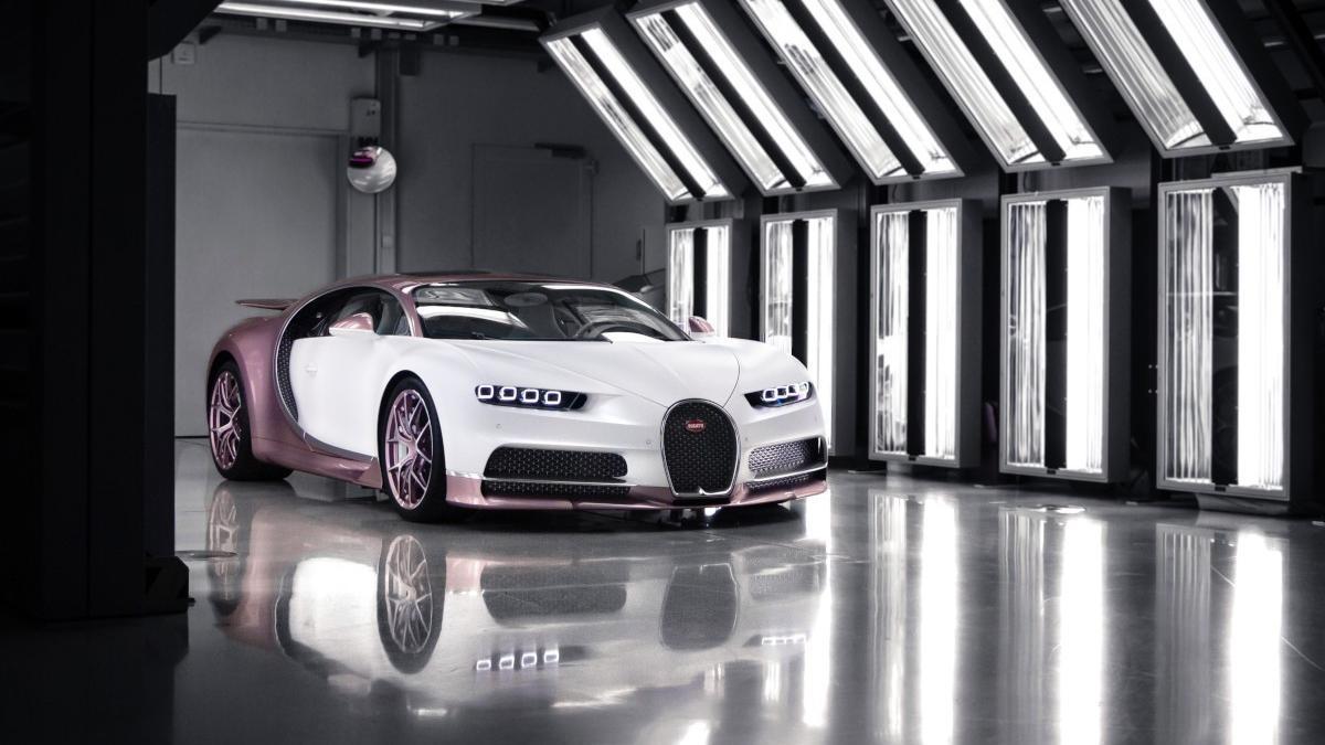 Este Bugatti Chiron es el mejor regalo de San Valentín que verás hoy