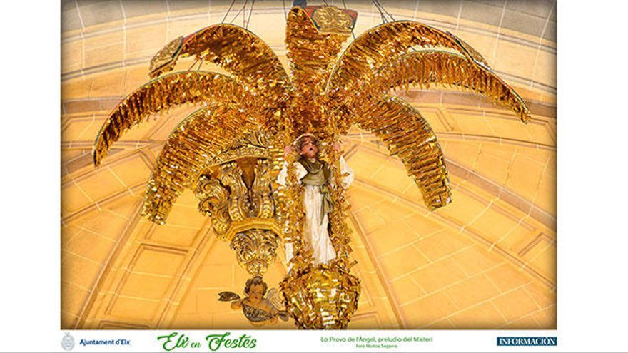 12 láminas de les Festes d'Elx gratis con INFORMACIÓN