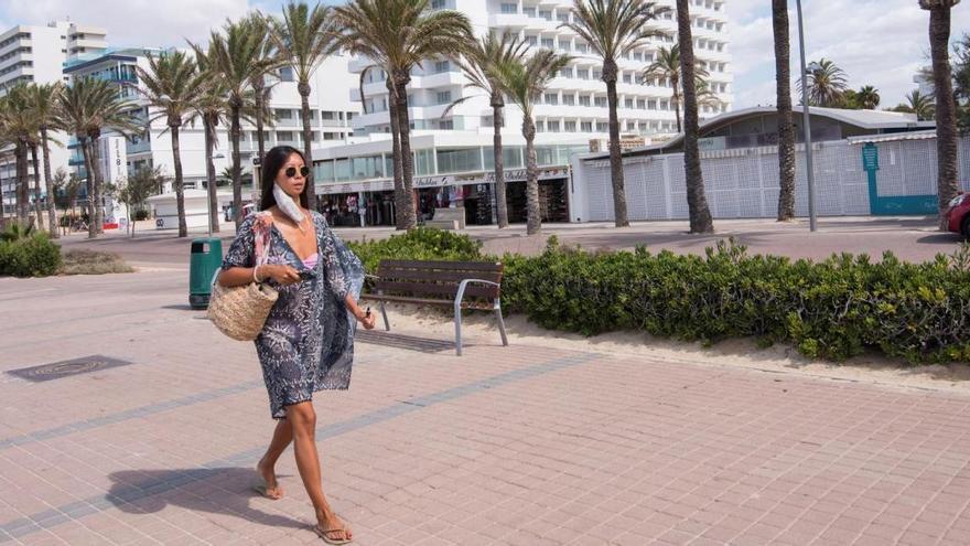 59 Hotels an der Playa de Palma noch geöffnet