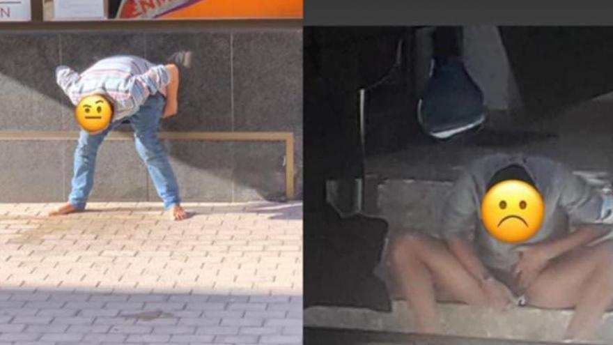 """Denuncian """"insalubridad"""" en el centro de Arrecife, por personas que defecan en la calle"""