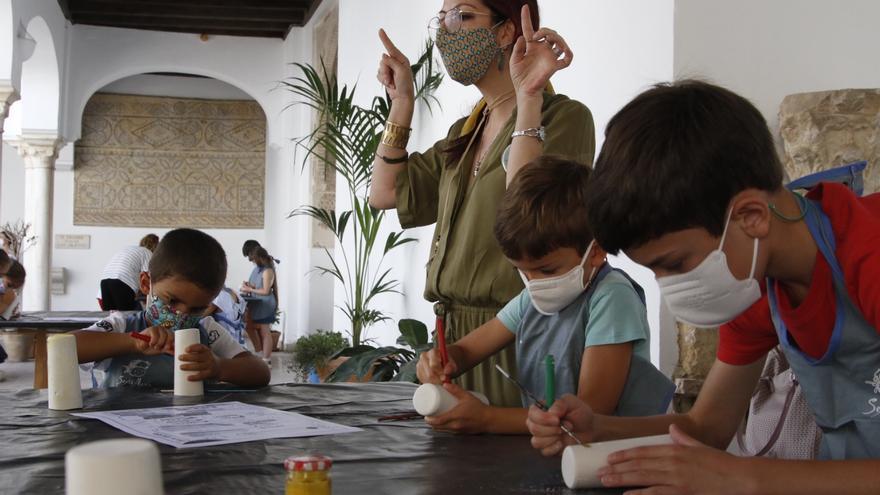 Diversión en el Museo Arqueológico de Córdoba