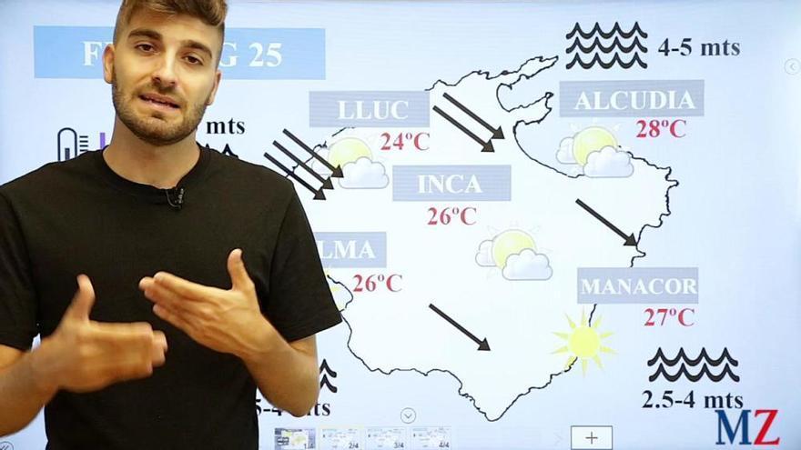 Wetter-Video: Herbststürme ziehen am Wochenende über Mallorca