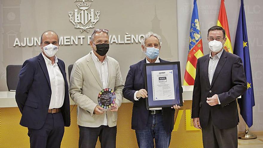 València, pionera en medir la huella hídrica