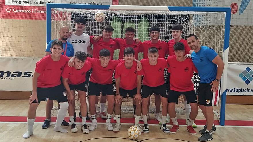 La formació juvenil del Covisa Manresa vol ser competitiva a Nacional