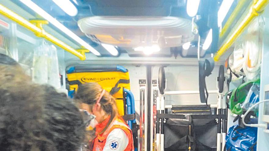 Denuncian la falta de ambulancias en Ponent y Sóller