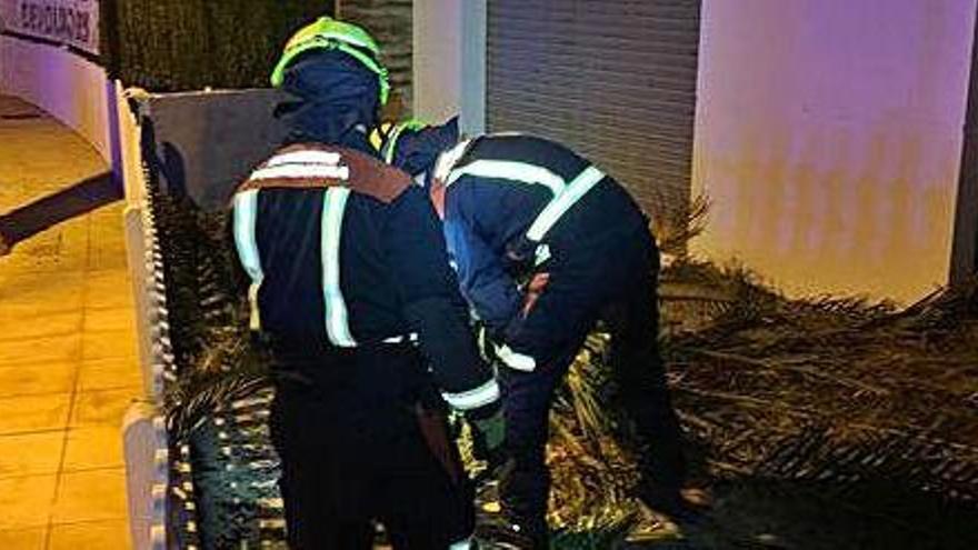 La borrasca 'Fabián' provoca 20 incidentes  en Ibiza