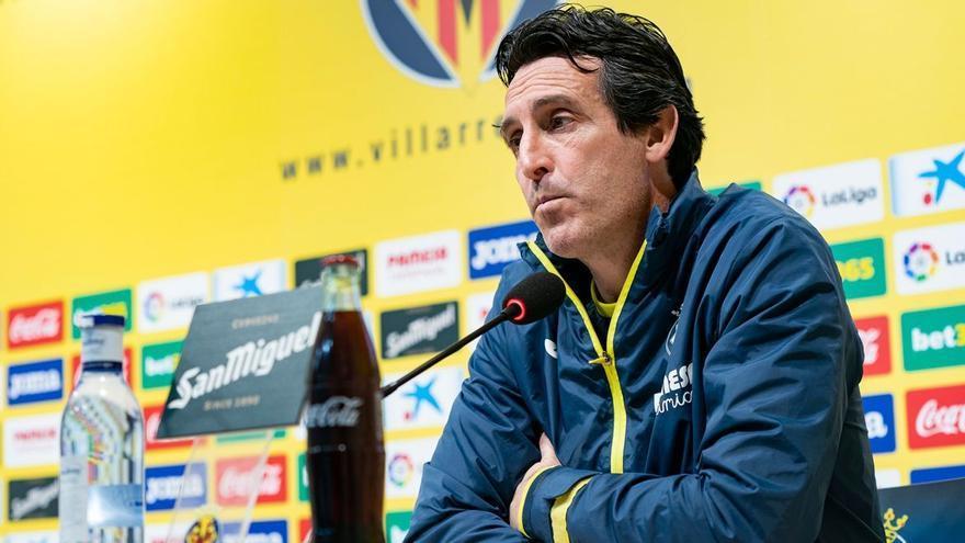 """Emery: """"La del Villarreal y mi posición es contraria a la Superliga"""""""