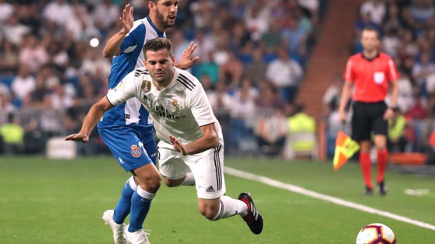 L'Espanyol fa patir el Madrid
