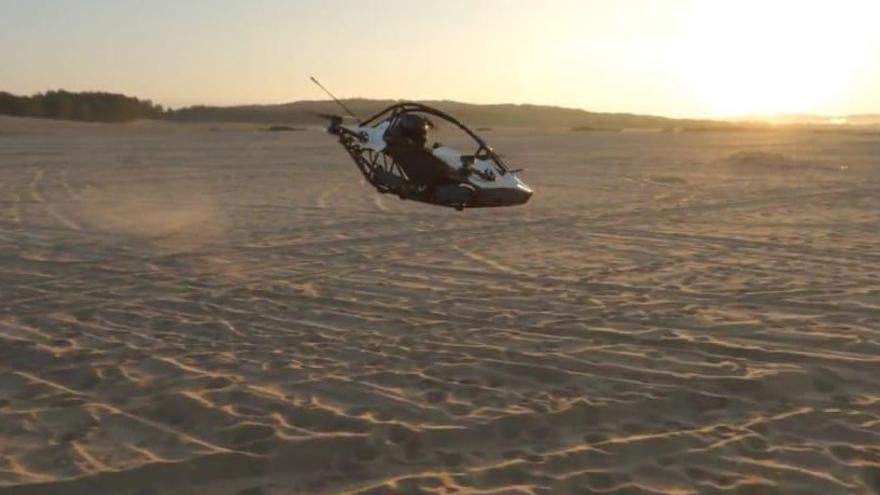 Jetson Aero recibe desde Córdoba el único encargo español de su coche volador
