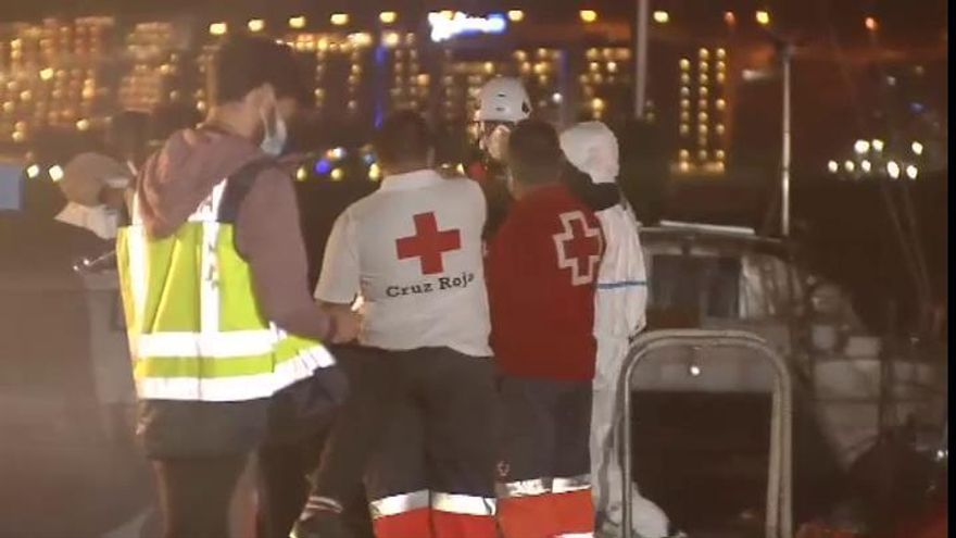 Rescatados casi 300 inmigrantes en las Islas Canarias