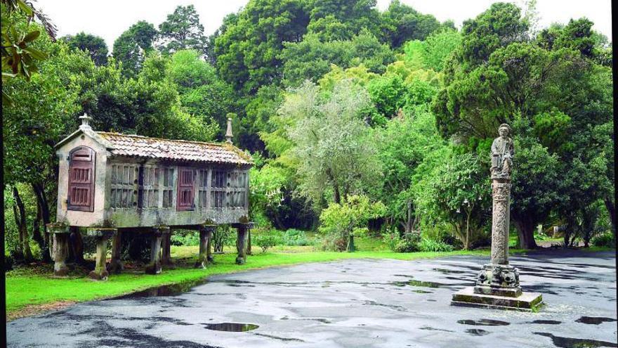 El Estado plantea que Sada gestione y abra los jardines del pazo los fines de semana y festivos