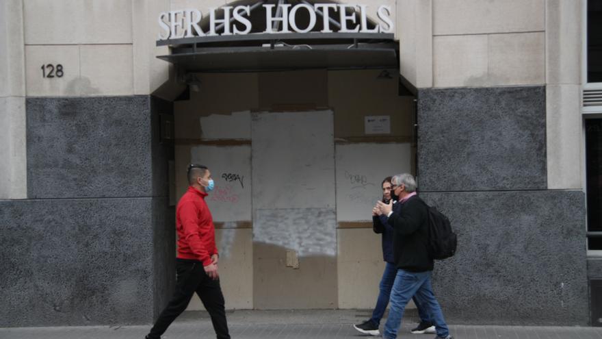El Gremi d'Hotels de Barcelona calcula pèrdues de 2.700 MEUR des de l'inici de la pandèmia