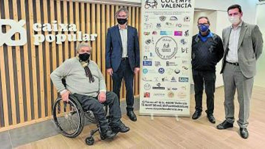 Caixa Popular i Cocemfe enfortiran el teixit associatiu de la discapacitat física