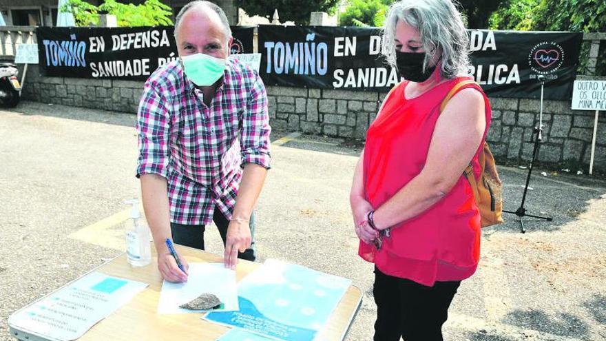 Vecinos de Tebra piden que se cubran las plazas médicas de Tomiño