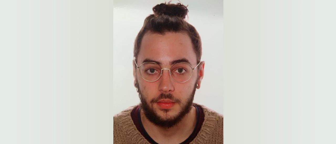La foto de Fiz Patiño distribuida para su búsqueda.