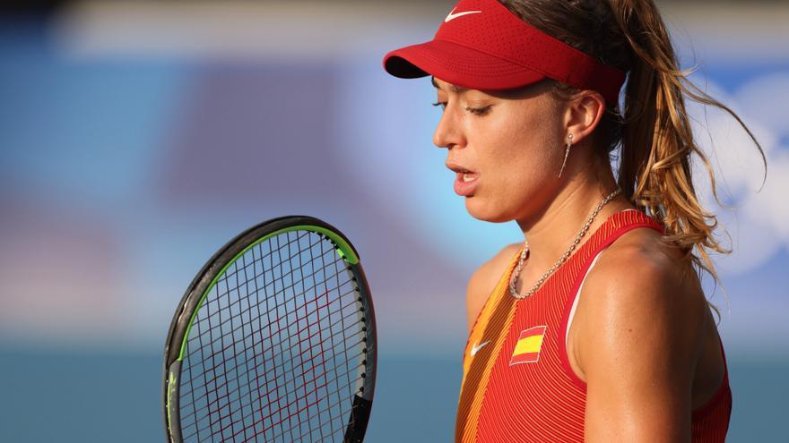 Paula Badosa se retira tras verse afectada por el calor