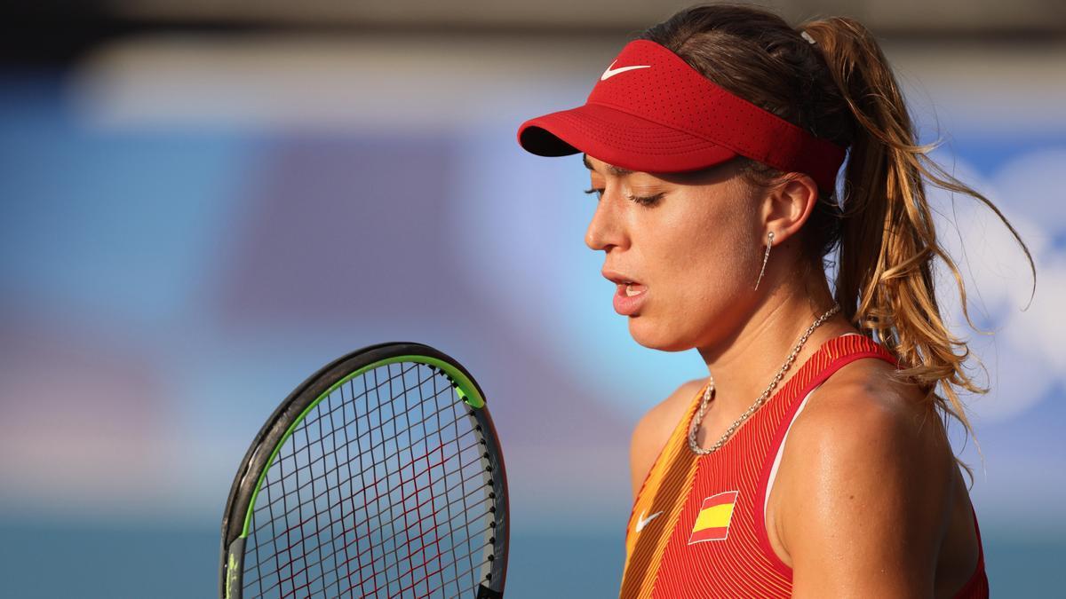Una imagen de Paula Badosa en los Juegos de Tokio.