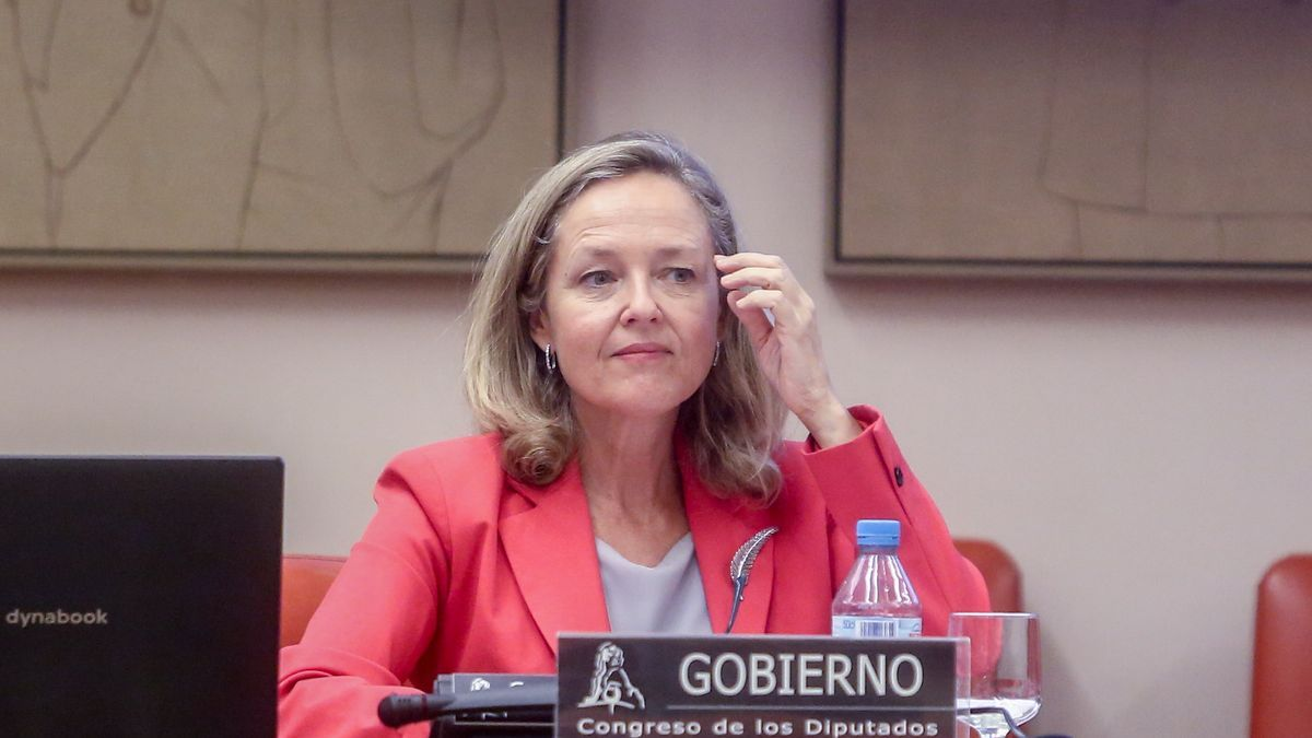 La vicepresidenta primera del Gobierno, Nadia Calviño.