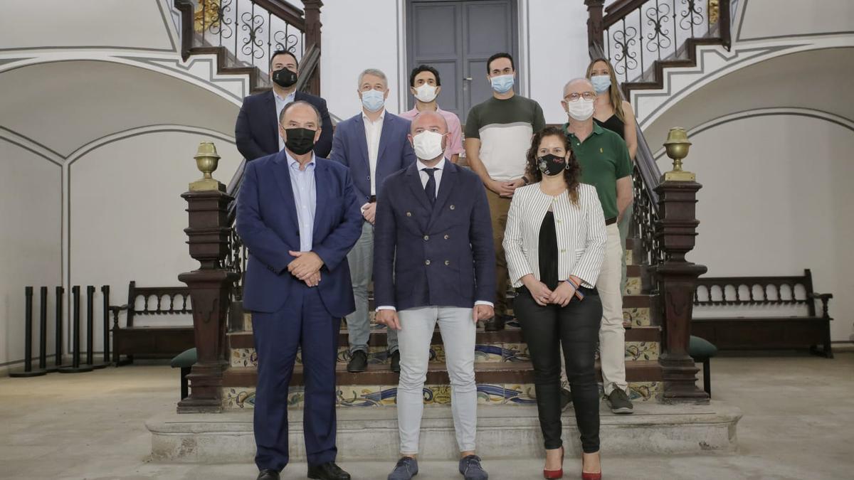 Encuentro entre la Diputación de València y Cámara Valencia