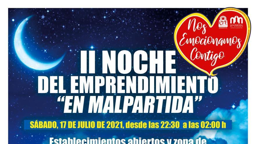 Noche de tiendas abiertas en Malpartida de Cáceres