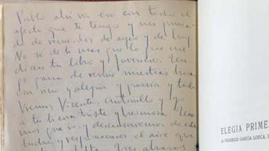 La no carta de  Miguel Hernández