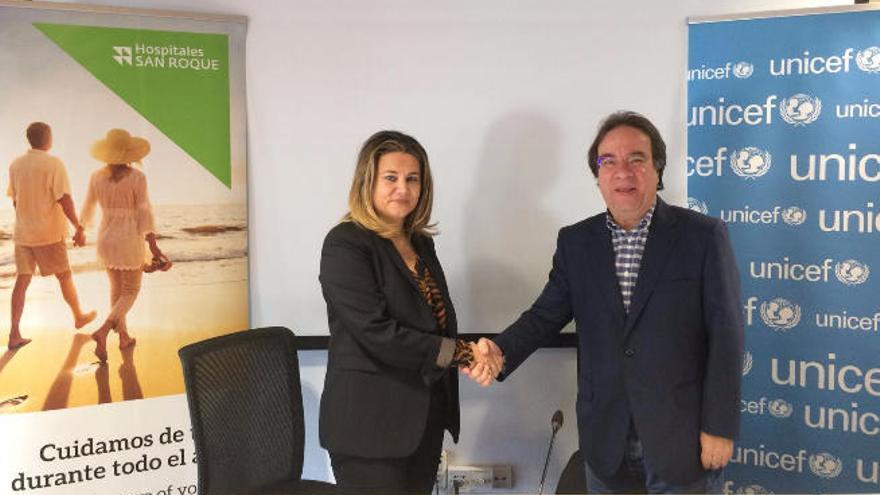 Hospitales San Roque se une  a la campaña '#CierraUNICEF'