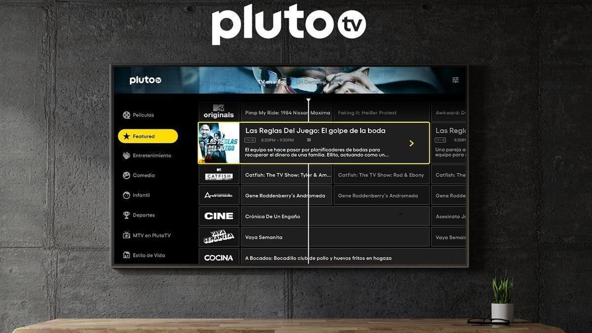 Pluto TV llega a España con 40 canales gratuitos y bajo demanda