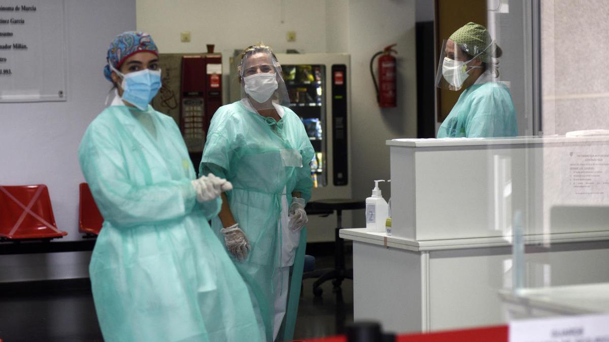 Un fallecido y 26 altas hospitalarias por coronavirus en la Región en las últimas 24 horas