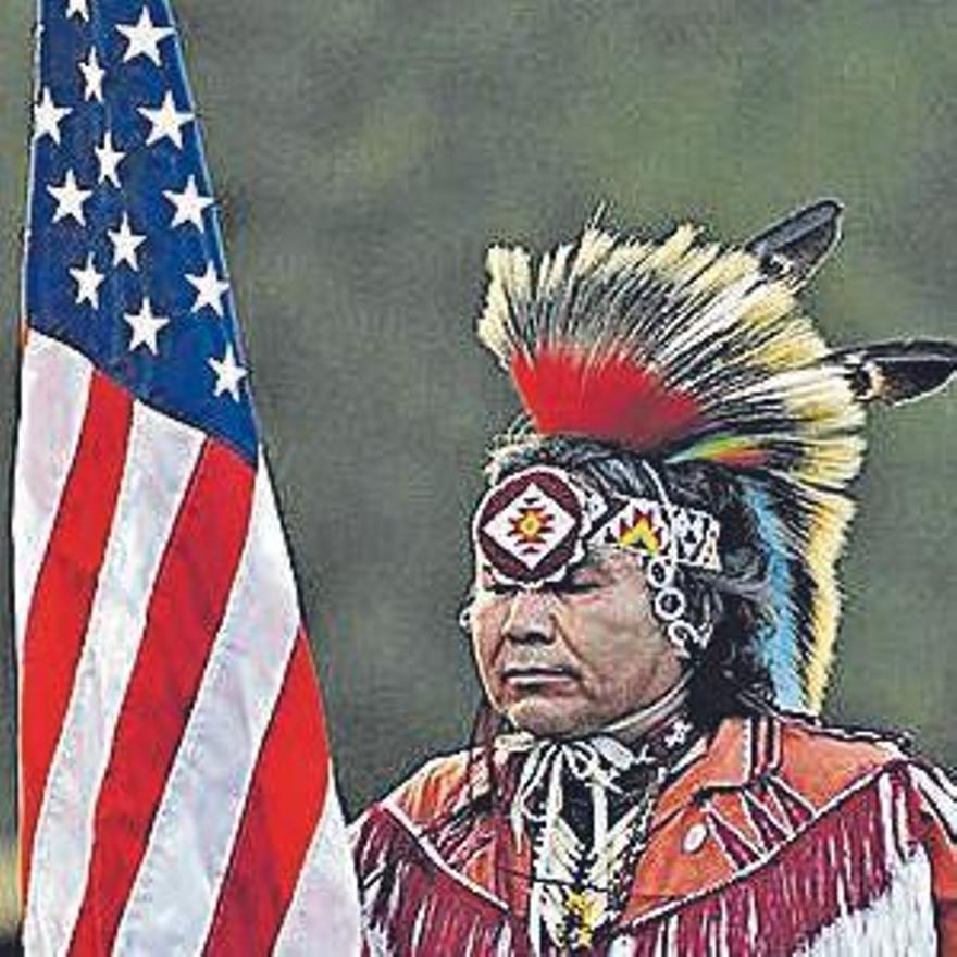 Un jefe sioux oglala.