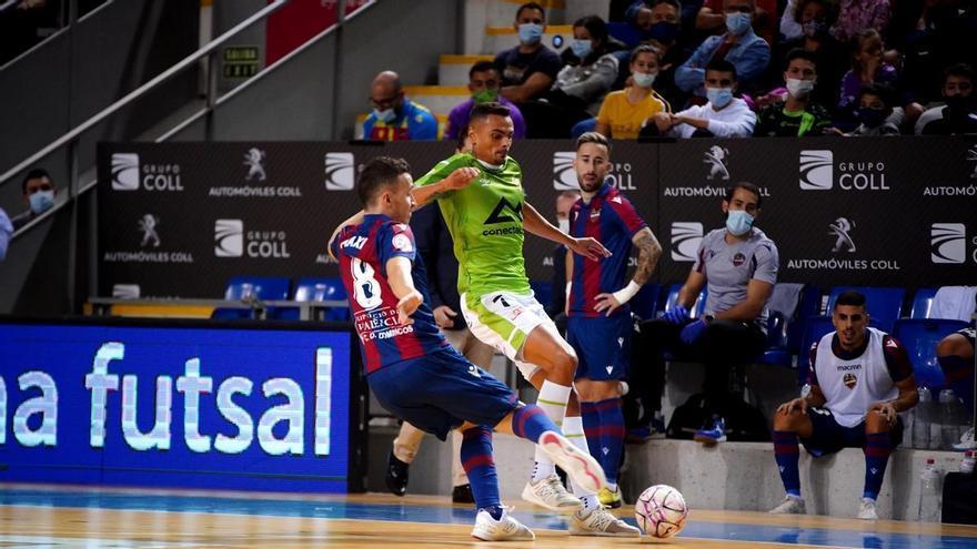 El Levante UD FS salva un punto antes de la Liga de Campeones (1-1)