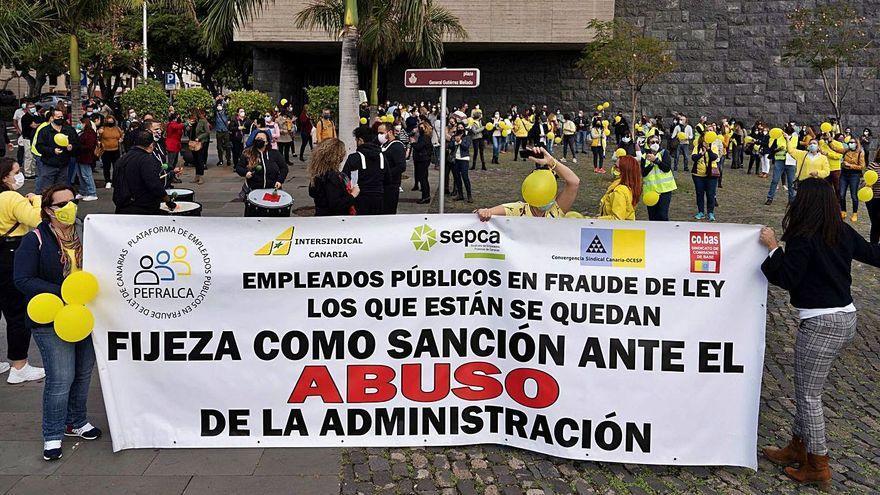 Acuerdo entre Gobierno de Canarias y empleados públicos para frenar la temporalidad