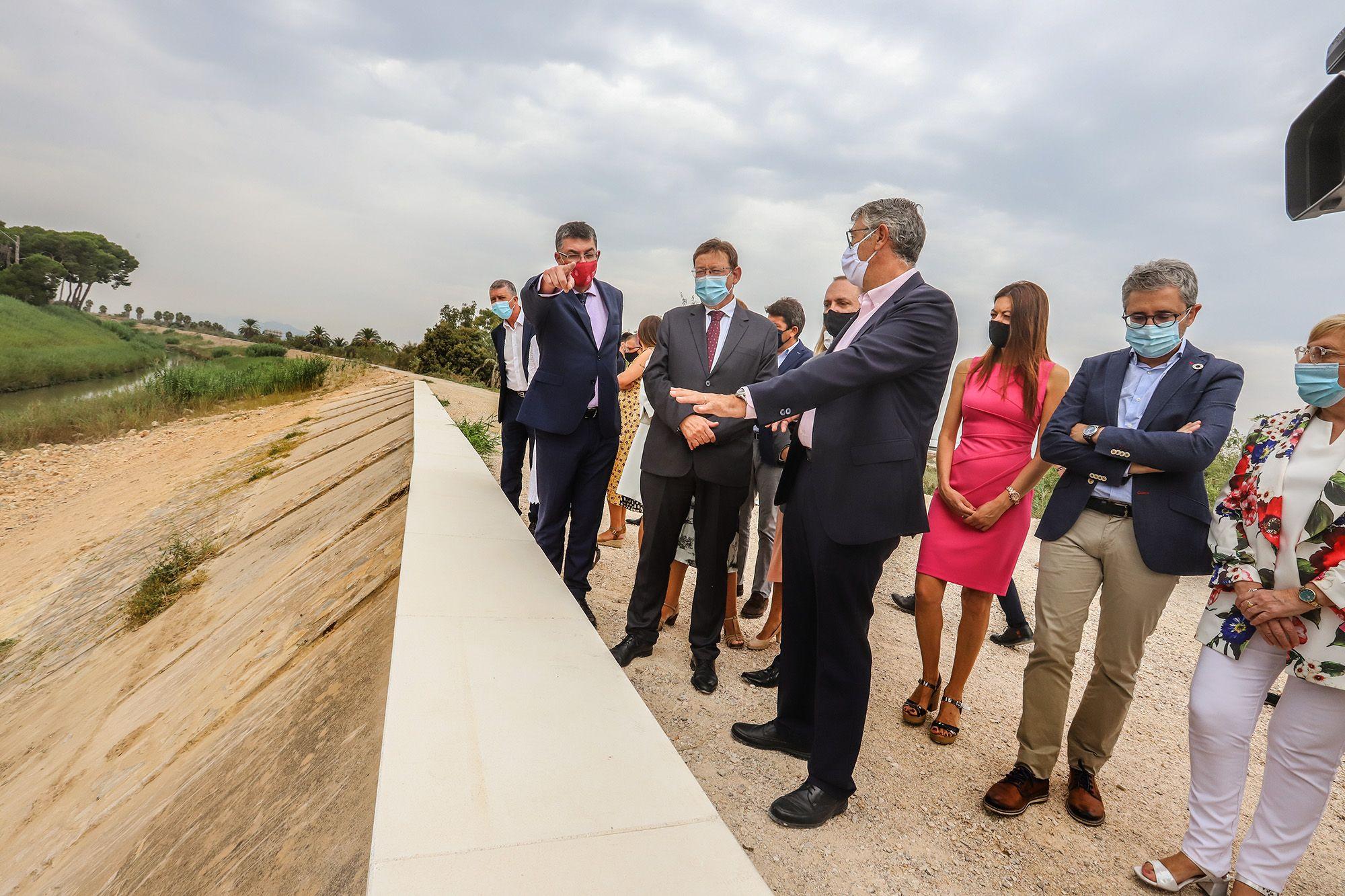 Desembarco de cargos autonómicos para presentar el Plan Vega Renhace en Almoradí