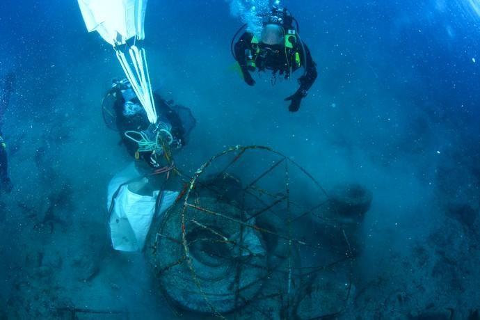 Limpieza del fondo marino de Arrecife