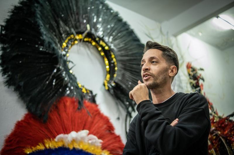Daniel Pages, diseñador de la candidata de El Día