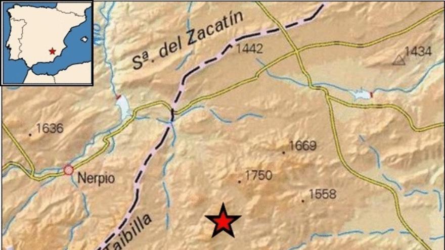 Dos terremotos sacuden Moratalla este viernes