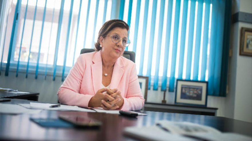 Ángela Delgado, reelegida presidenta de Asaga Canarias