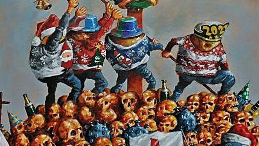 Taboada pasa por el tamiz del humor la irresponsabilidad sanitaria en Navidad