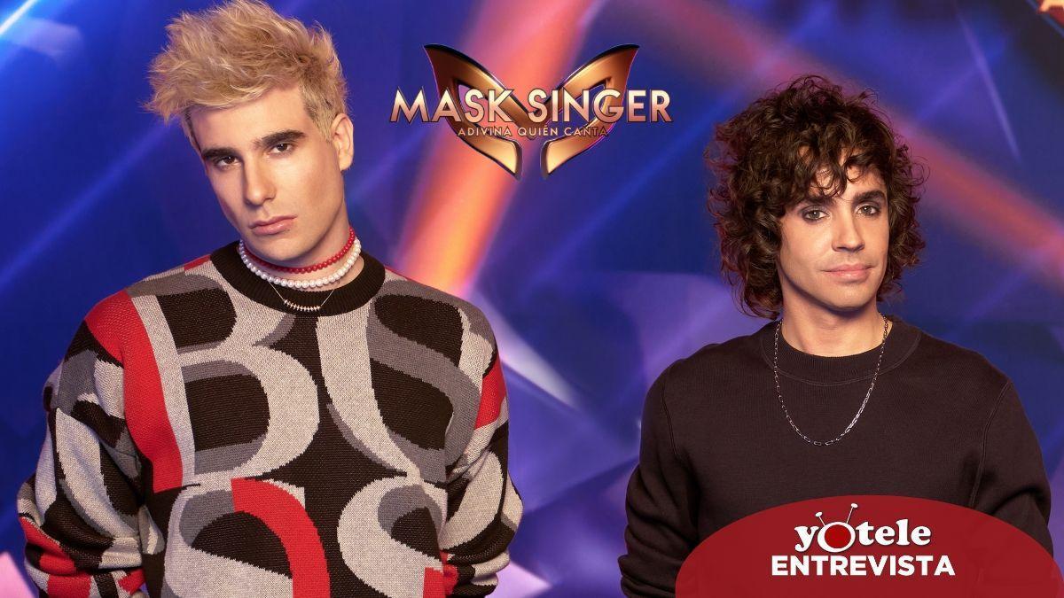 Los Javis, investigadores de 'Mask Singer: Adivina quién canta'.