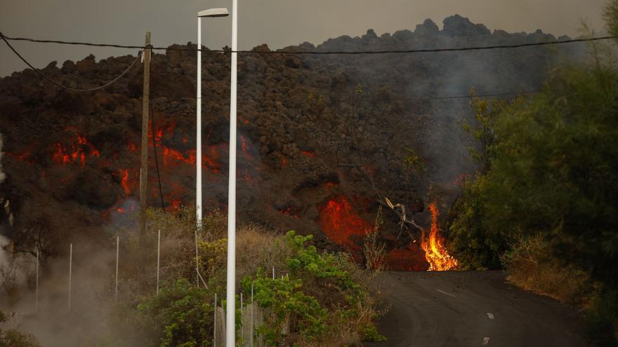 Cronología de las zonas arrasadas por la erupción del Cumbre Vieja