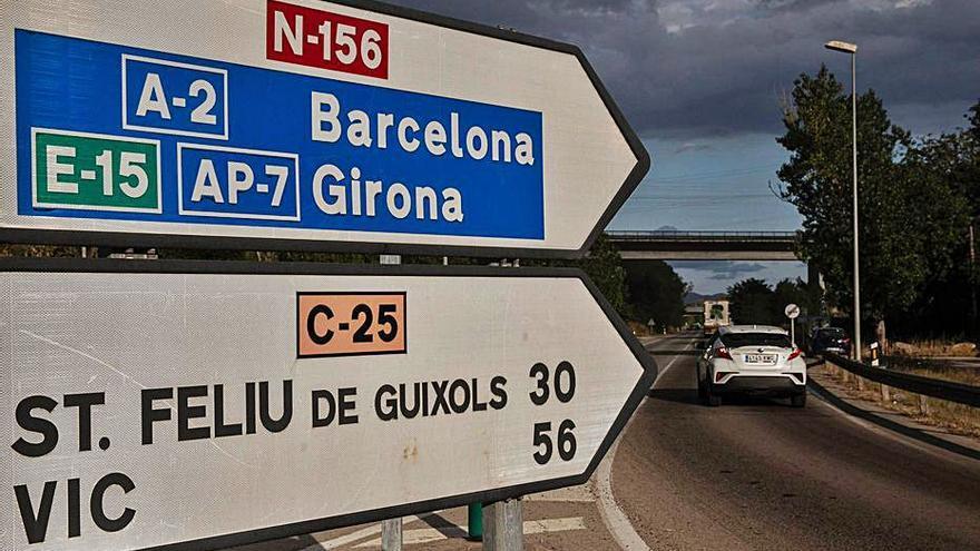 ERC denuncia els «dèficits» de la carretera que va a l'aeroport