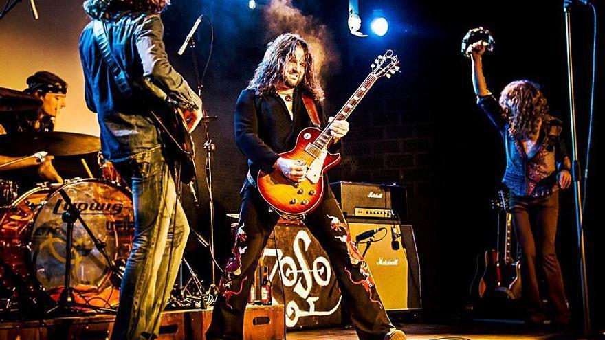 Whole Lotta Band recrea  el rock de leyenda de Led Zeppelin en su gira nacional