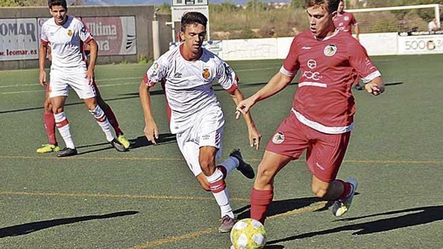El Mallorca B hace valer su superioridad técnica
